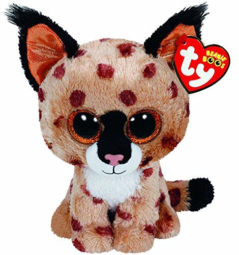 From 2.51:Ty Beanie Boo Plush - Buckwheat The Lynx 15cm