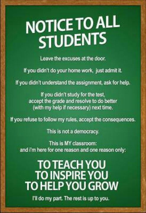 Teach & inspire maybe I can make something similar to this but without the one about homework.