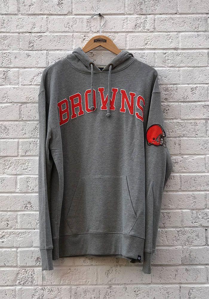 c3d3d0cb 47 Cleveland Browns Mens Grey Striker Fashion Hood - 48002612 | NFL ...