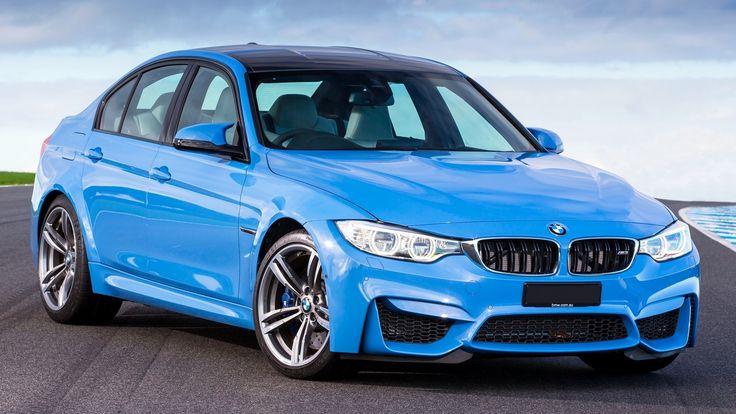 BMW M3 F80 Blue Side Front Close Up Bmw, Bmw m3