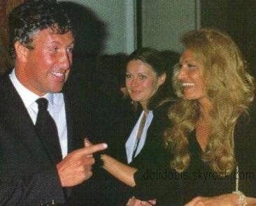 Dalida avec Stéphane Collaro