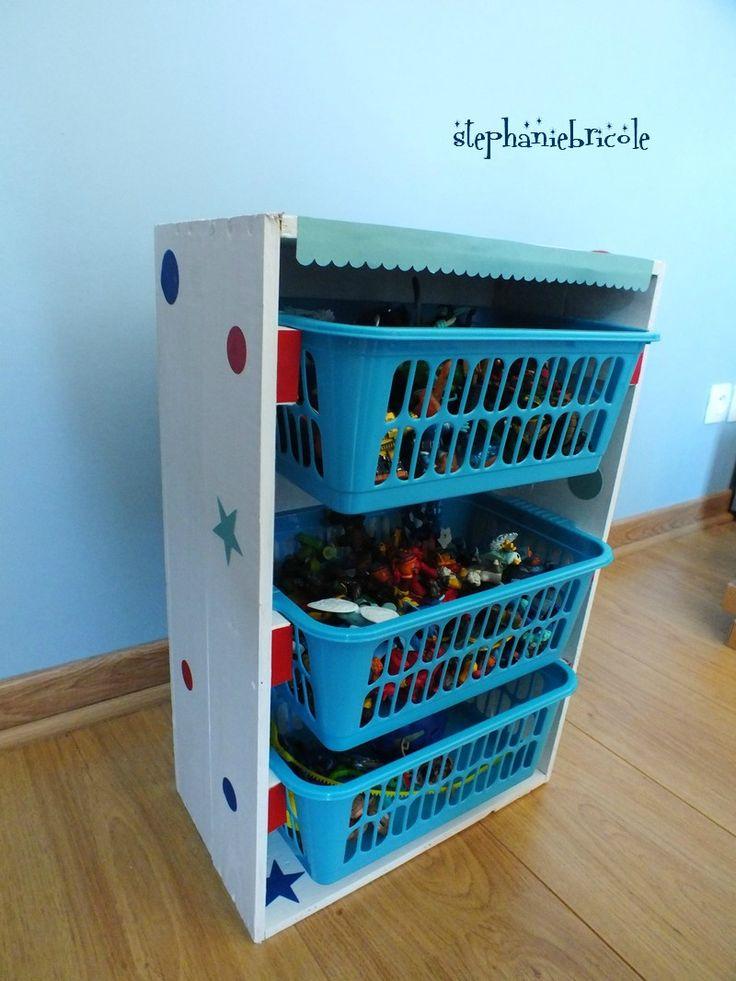 1000 images about transformation meuble pour enfant on for Meuble rangement jouet