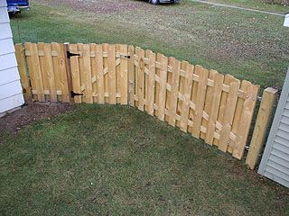 how to make a picket fence more private