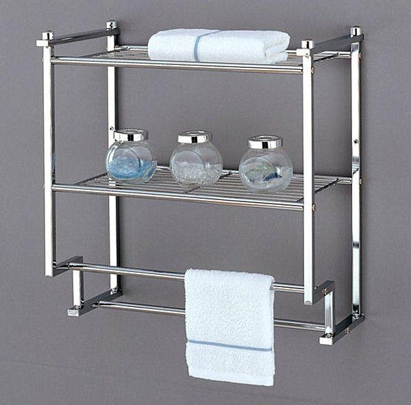 Wandregale für Badezimmer – praktische, moderne Badeinrichtung