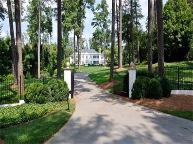 Atlanta Landmark In Tuxedo Park On 5 Beautiful Acres 3640 Rd