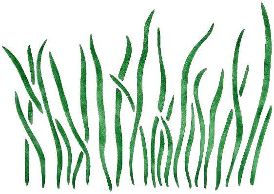 grass stencil