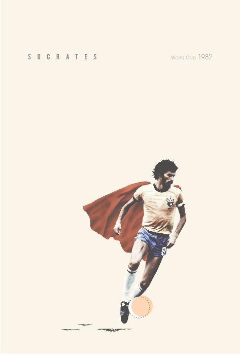 Soccer stars 2 by Sebastián Correa, via Behance