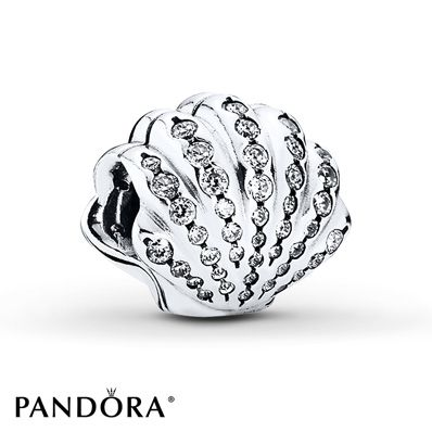 Seashells are part of the outfit worn by Ariel, and they also reference her underwater life. With its soft curves, embellished by sparkly stones, this gorgeous charm will bring an organic look and sense of underwater adventure to your collection. Style # 791574CZ.