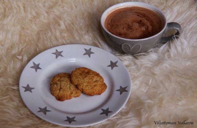 Viljattoman Vallaton: Toffeiset kookoskeksit