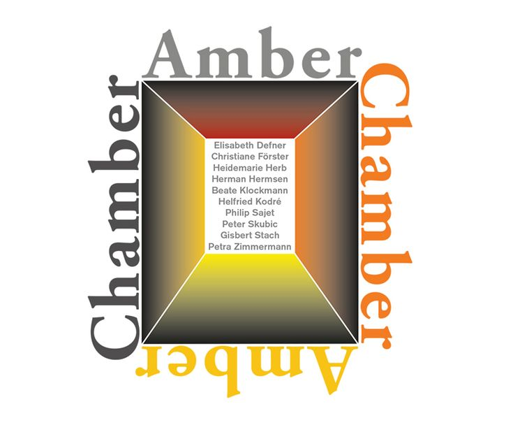 Amber Chamber Exhibition  /  28 Apr-7 Jun 2015 - The Ring Gallery, Legnica, Poland