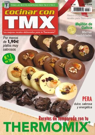 Revista digital dedicada a Thermomix con recetas, trucos, nutrición. Este mes está dedica a la recetas saludables... recetas para hacer con Thermomix de una forma sencilla y fácil.