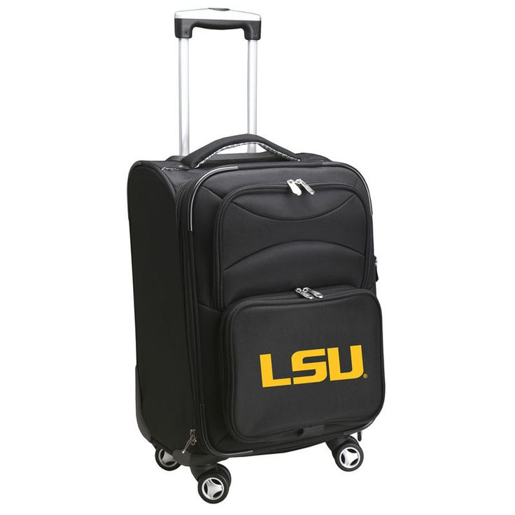 """LSU Tigers 20"""" Spinner Carry-On - Black"""