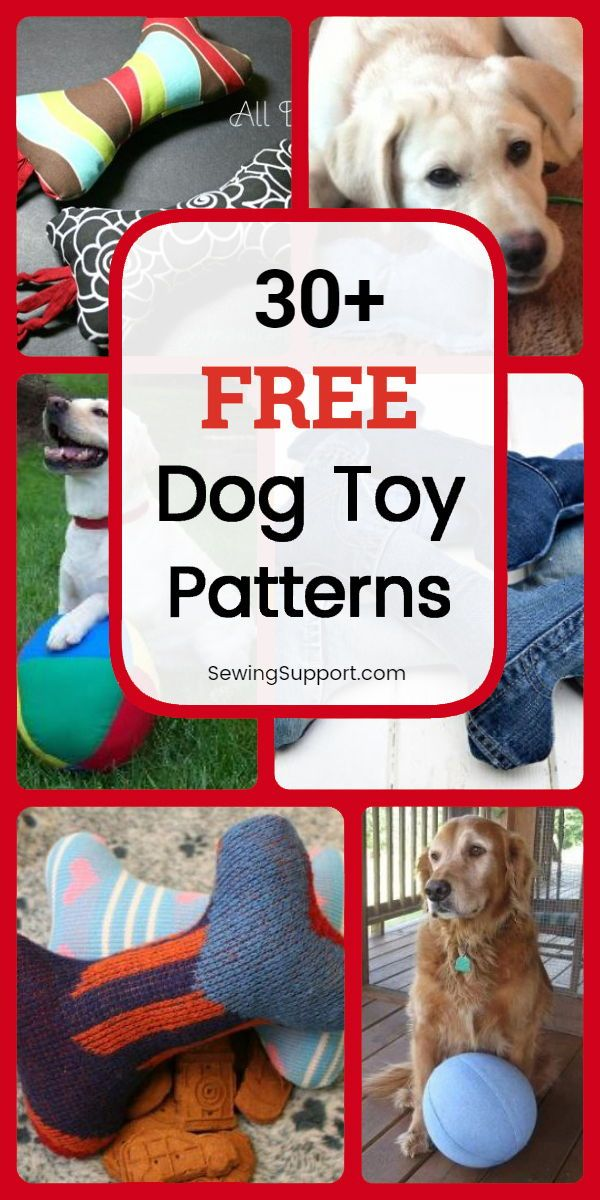 Fun Diy Christmas Gift For Your Dog 30 Free Dog Toy Diy Projects