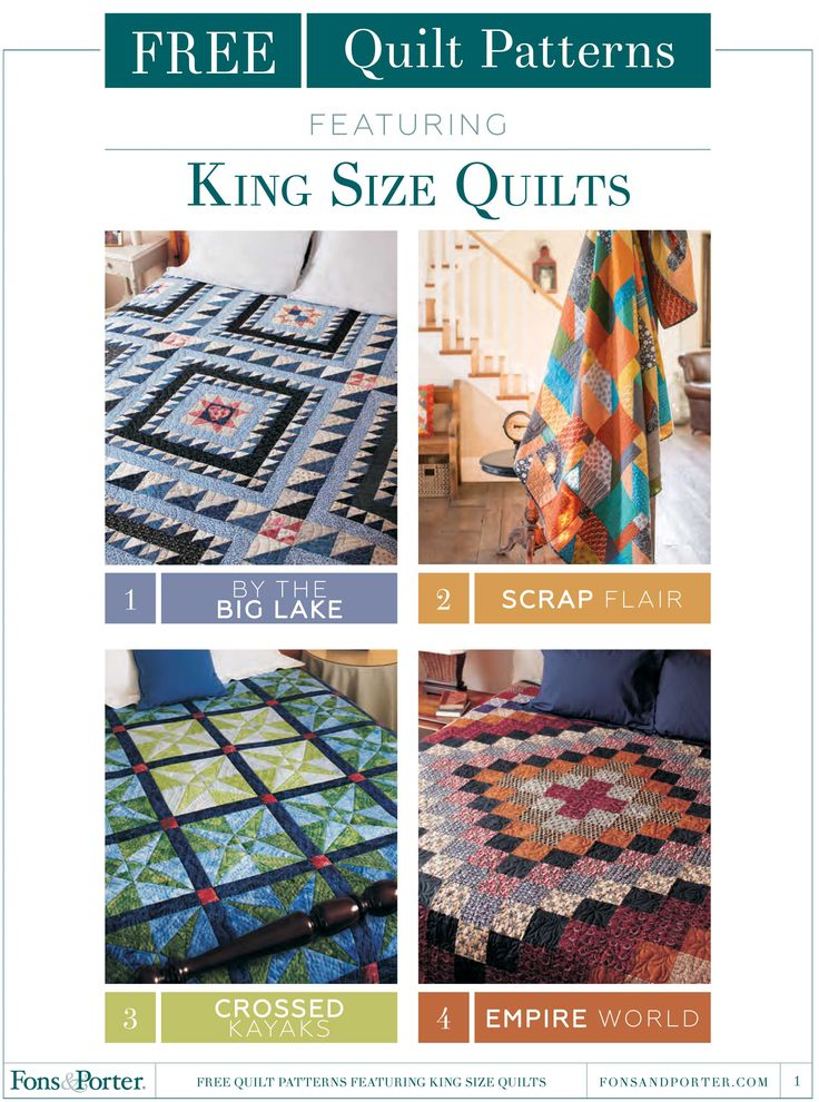 King Size Quilts Free eBook More