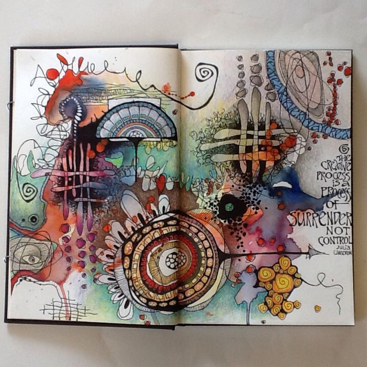 Art journal (by Deb Weiers)