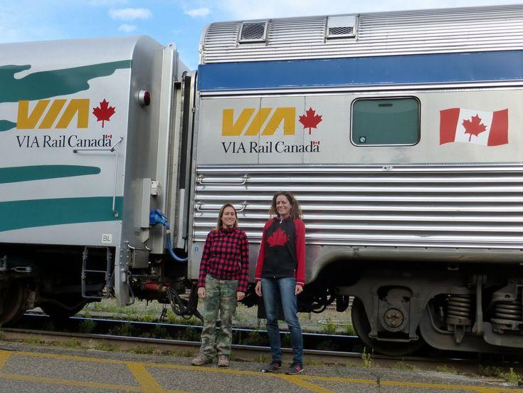 Avec ses paysages grandioses, le Canada est un pays idéal à découvrir en train. Avec Via-Rail, on peut traverser le Canada en train de Vancouver à Halifax