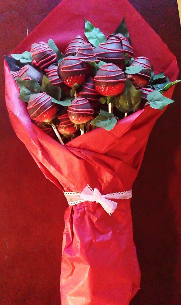 Bouquet of Chocolate Covered Strawberries