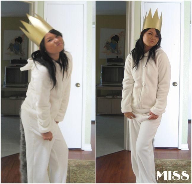 She's Crafty Halloween: DIY Max's Wolf Costume   M.I.S.S.