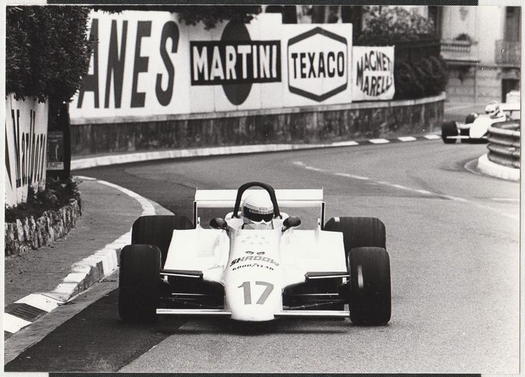 GEOFF LEES SHADOW FORD DN12 MONACO GP 1980 F1 ORIGINAL PERIOD PHOTOGRAPH FOTO