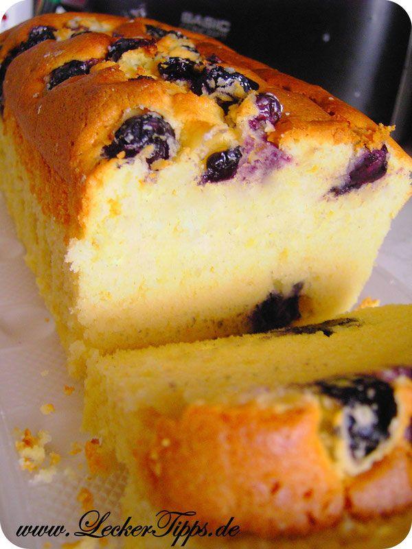 Heidelbeer-Joghurt-Butter-Kuchen  Zutaten:   (A) 125 g Butter, weich 170 g Zucker 1 Teel. V- Extract   (B) 3 Eigelb   (C) 240 g Mehl 1/4 Teel. Salz   (D) 150g Joghurt 3,5% 50ml Milch   (E) 3 Eiweiß 2 Teel. Weinstein Backpulver   (F) ca. 150 - 250 g Heidelbeeren oder Blaubeeren