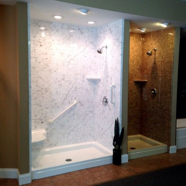 Acrylic stall shower designs  Shower stalls for small