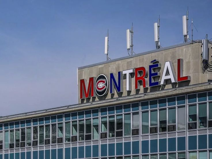 Montreal's Trudeau airport sign adopts Canadiens colours | Montreal Gazette