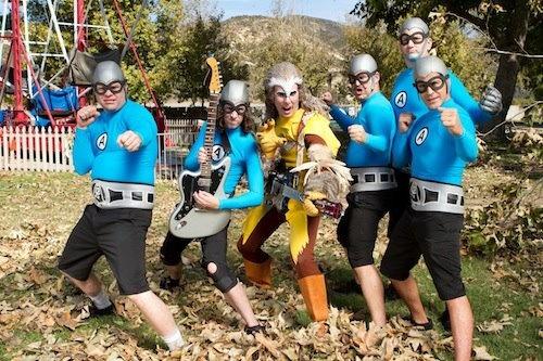 Aquabats Super Show!  Jon Heder guest stars on #TheAquabats Super Show on The #Hub