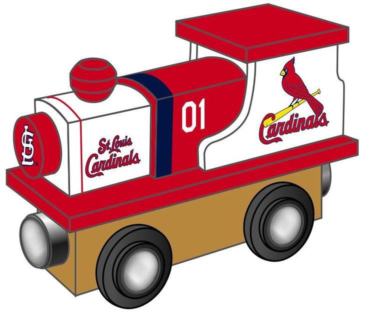 St. Louis Cardinals Wooden Toy Train