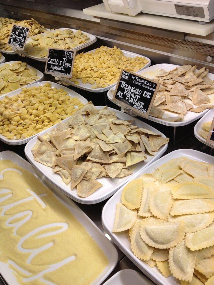 fresh pasta   Eataly NYC in New York, NY