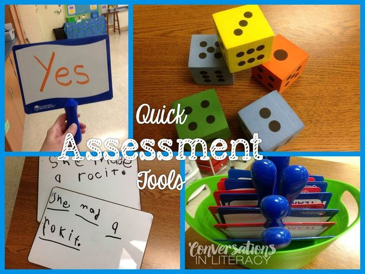 Quick Formative Assessment Tools