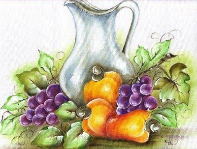 Cesta de Frutas                    Olá, pessoal!  Estou de volta as atividades, trazendo para vocês as minhas novidades.                ...
