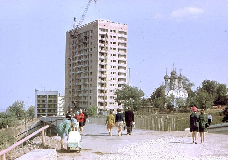Горький (Нижний Новгород). 1960-е годы.  Gorky (Nizhny Novgorod). 1960s.