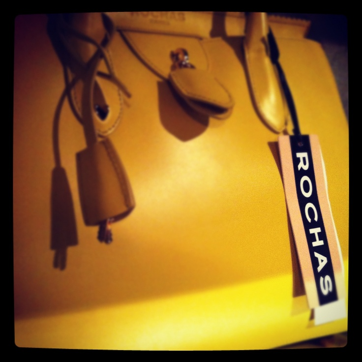 dreaming a Rochas Bag! Thanks to Quadra Store! #trani