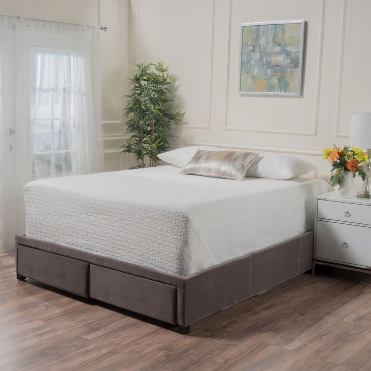 wednesday upholstered bed with drawers by christopher knight home