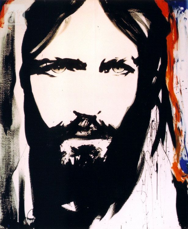 Love this beautiful picture of Jesus with the most amazing gaze! - the Jesus painter.