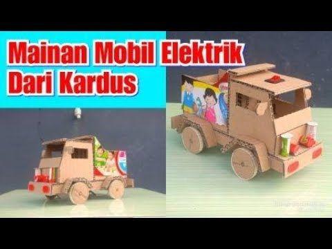 Kerajinan Dari Kardus Cara Membuat Mainan Mobil Mobilan Untuk