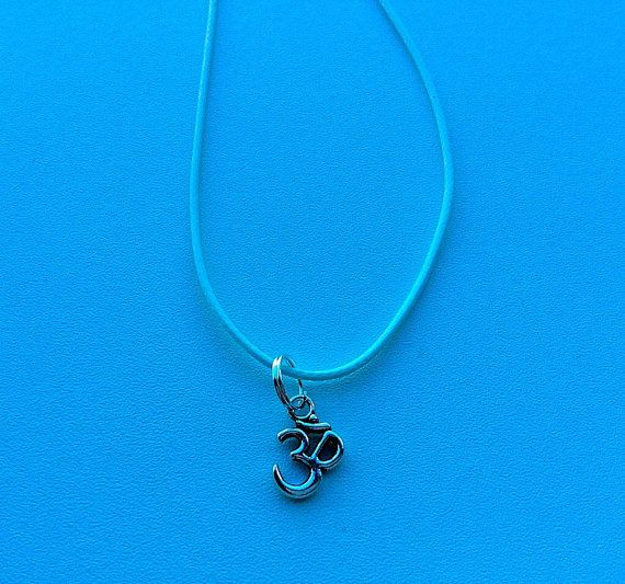 Om necklace mens necklace spititual necklace Zen by PetalcraftArt