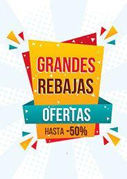 9298edb85 Cartel de grandes rebajas #Rebajas #Descuentos #Ofertas #Comercios #Pymes  #Sale
