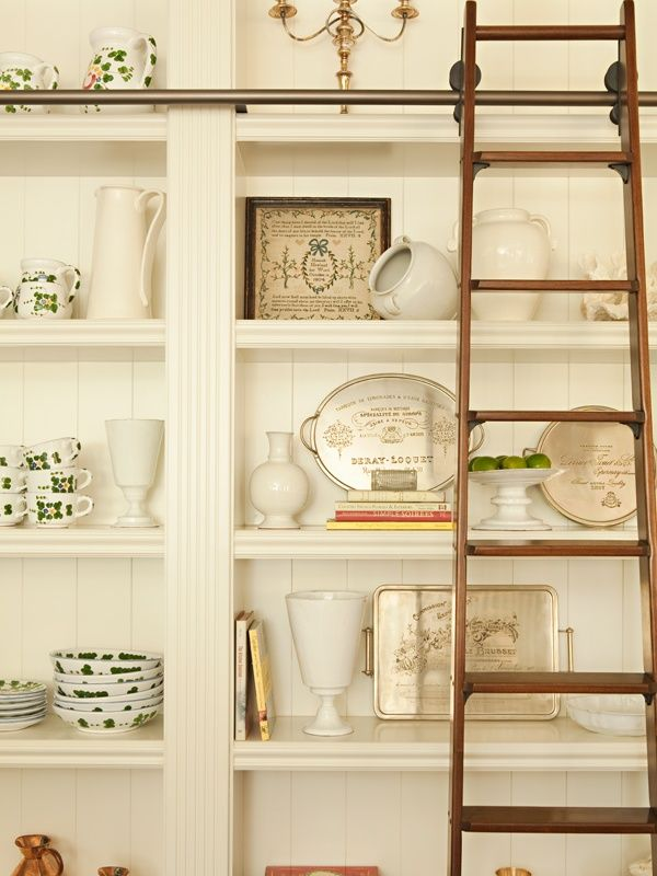215 best images about Rolling Library Ladders – Rolling Ladders for Bookcases