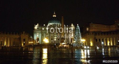 Christmas in San Peter Vatican