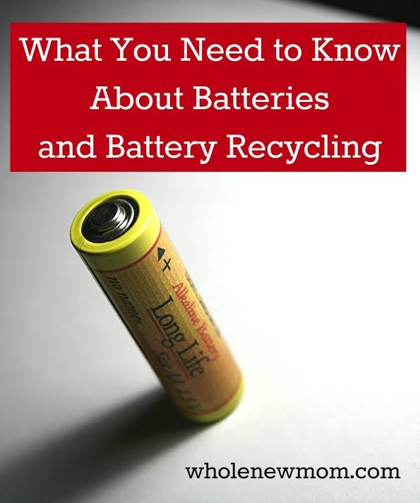 Batteries and Battery Recycling - Do you throw away your batteries? Read this and find out why you should stop.