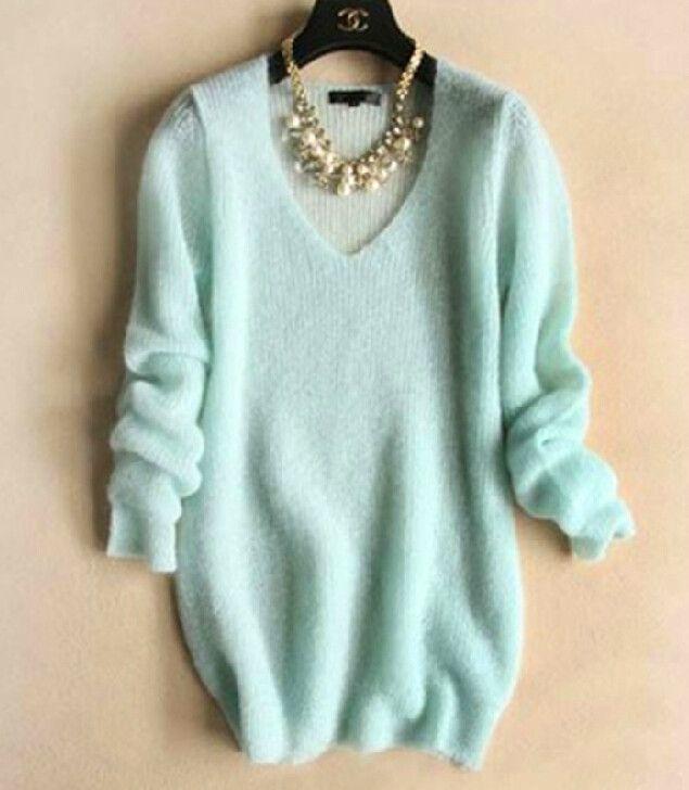 [ $42.00 ] Fashion V-neck knit sweater VD1117BE