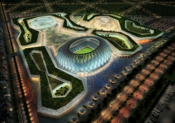 Architizer Blog » How to Build for the World Cup: Albert Speer, Jr. and Qatar's Dream Football City