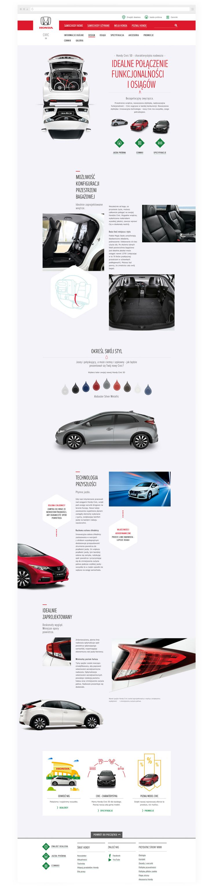 Honda Europe - Website & Art Direction