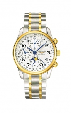 This beautiful Longines Watch piece is part of the Moonphase Chronograph collection. Its model number is L2.673.5.78.7.