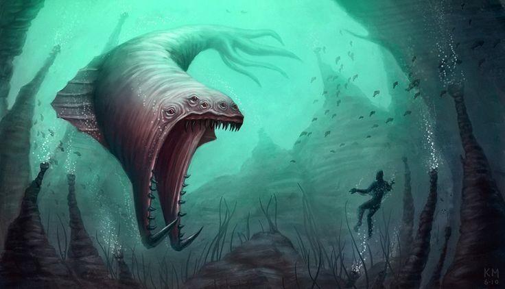 monstruos marinos mitologicos - Buscar con Google
