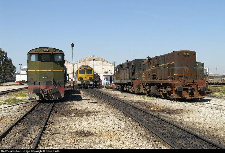 RailPictures.Net Photo: DF 357 Societé Nationale de Chemins de Fer Tunisiens (SNCFT) GM at Tunis, Tunisia by Dave Smith