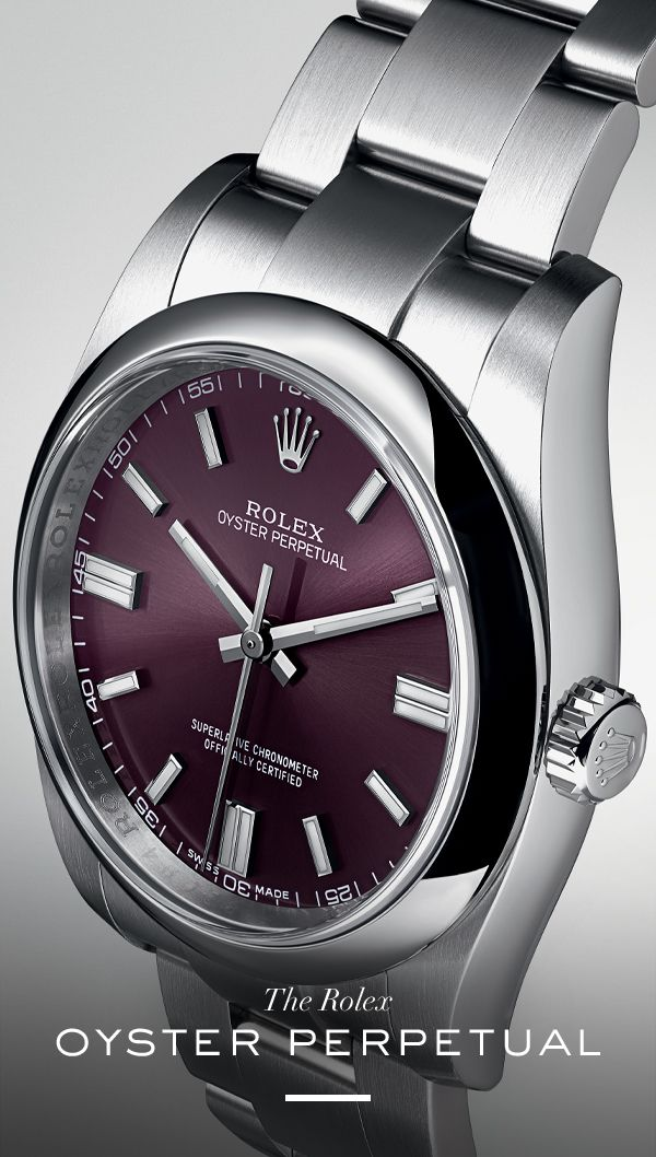 Rolex Oyster Perpetual. #RolexOfficial
