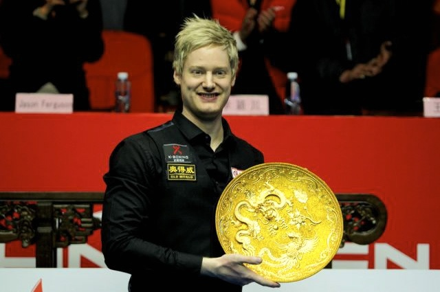 Neil Robertson (Above), Bank of Beijing China Open 2013 Champion, Neil Robertson 10-6 Mark Selby