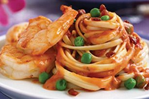 Quick Shrimp & Linguine